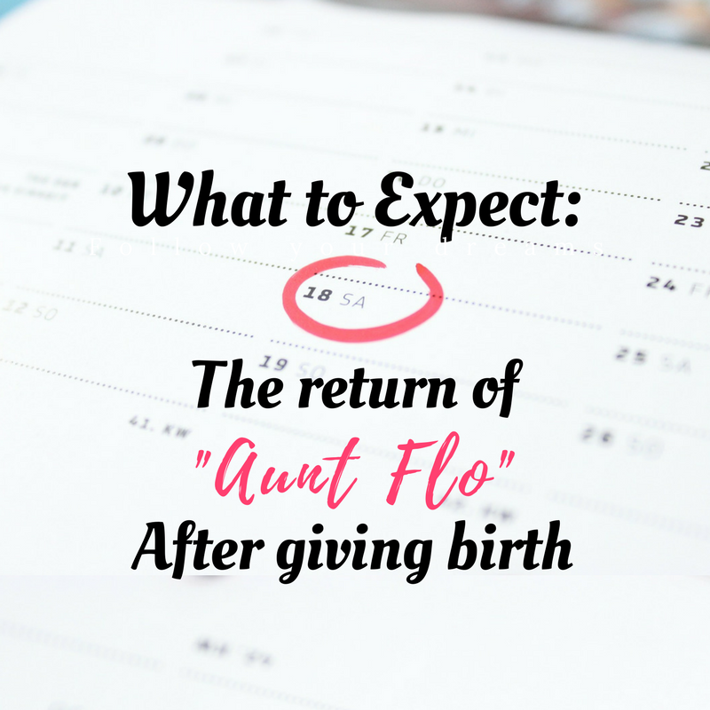 What To Expect From Your First Period After Giving Birth Fresh